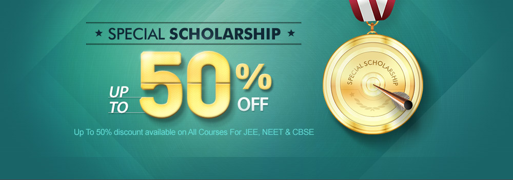 SPECIAL SCHOLARSHIP 50% off