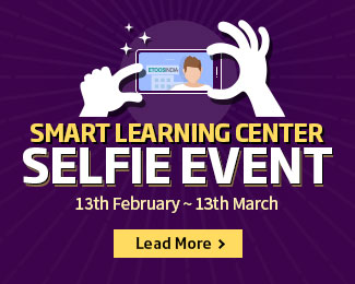 Smart Learning Center - Selfie Event / 13th February ~ 13th March / Lead More